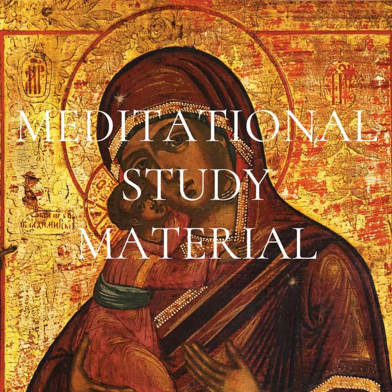 Meditational Study Material