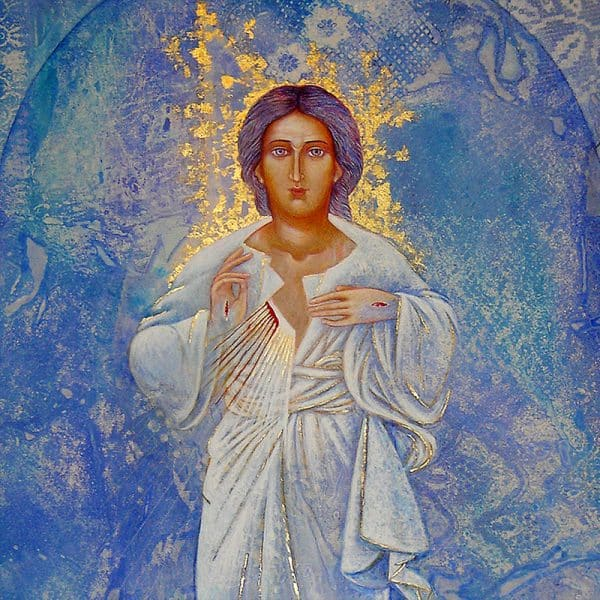 Etheric Christ Fount of Mercy