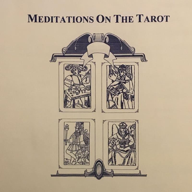 Meditations On The Tarot Study
